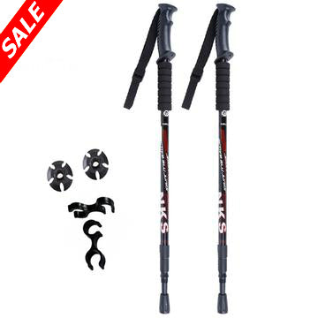Anti Shock Nordic Trekking Poles - Pack of 2 poles - Save and Shop Collections