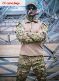 Tactical Camo Suit With Knee/Elbow Padding - Save and Shop Collections