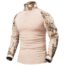 Load image into Gallery viewer, Tactical Long Sleeve Slim Fit Shirt with Zipper - Save and Shop Collections