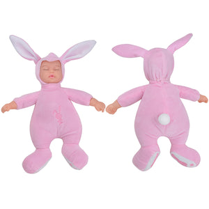 Rabbit Plush Stuffed Baby Doll - Save and Shop Collections