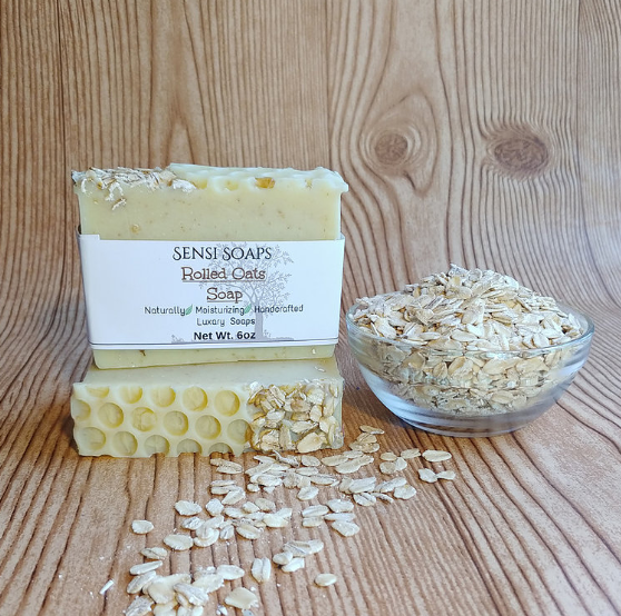 Rolled Oats Soap
