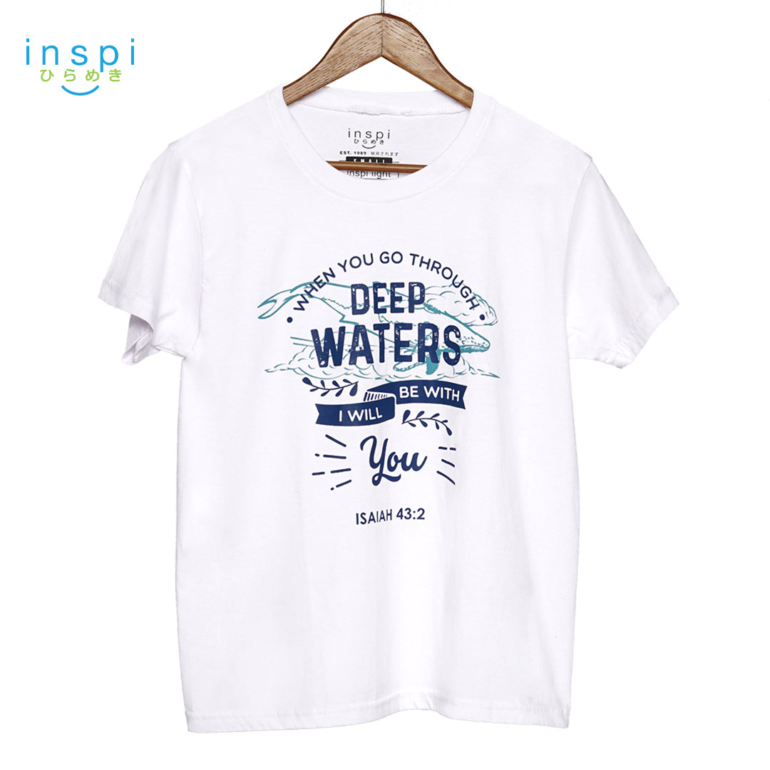 INSPI Shirt Deep Waters in White