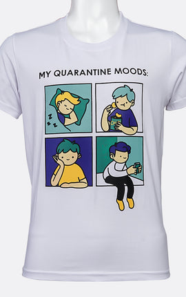 INSPI Shirt My Quarantine Mood in White