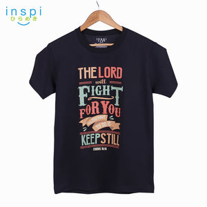 INSPI Shirt Keep Still Graphic Tshirt in Black