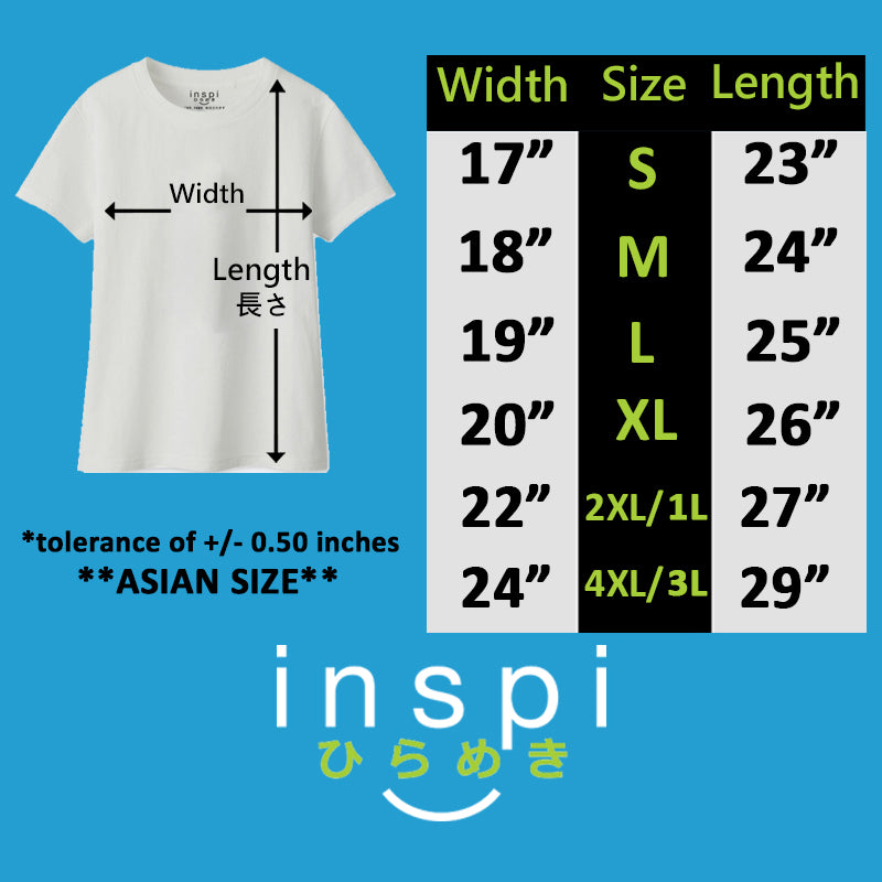 INSPI Tees Ladies Loose Fit Geometric Mountains Graphic Tshirt in Black