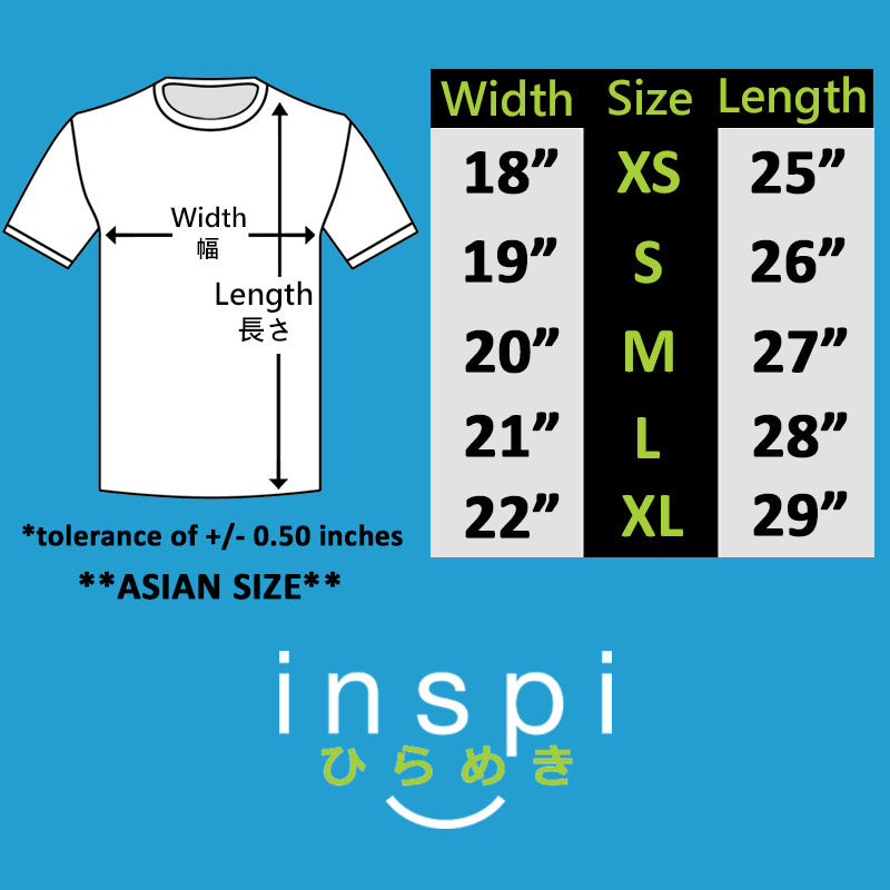 INSPI Shirt Keep Calm Stay Safe in Navy Blue