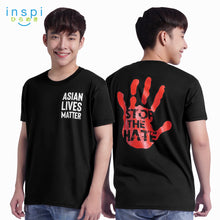 Load image into Gallery viewer, INSPI Tees Asian Lives Matter Graphic Statement Tshirt in Black For Men Trendy Women Unisex Tops