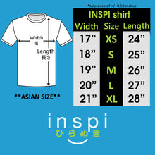 Load image into Gallery viewer, INSPI Shirt Fear Ends Graphic Shirt in Blue
