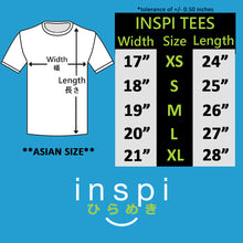 Load image into Gallery viewer, INSPI Tees Precipitate Graphic Tshirt in Navy Blue