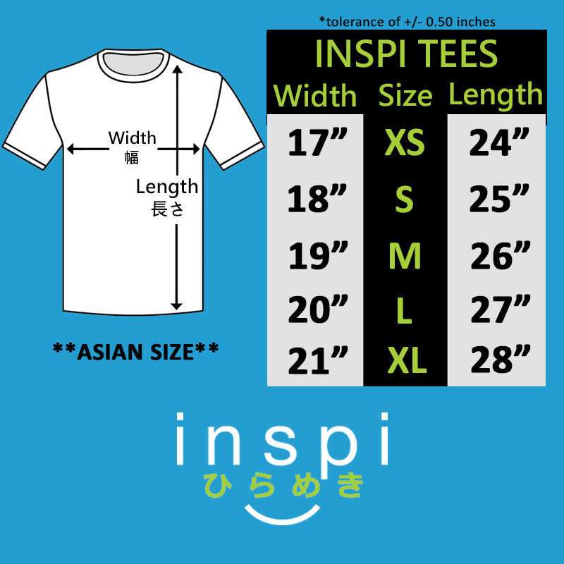 INSPI Tees Horizons Graphic Tshirt in Navy Blue