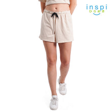 Load image into Gallery viewer, INSPI Ladies Comfies Casual Shorts in Khaki pambahay Coords Short for woman loungewear woman pajama