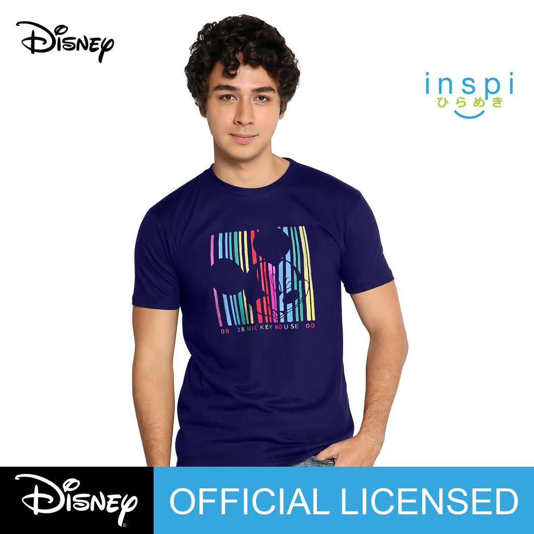 Disney Line Spectrums Graphic Tshirt in Navy Blue For Men Inspi Tee