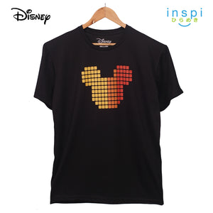 Disney Mickey Mouse Icon Head Graphic Tshirt in Black for Men Inspi Shirt