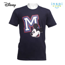 Load image into Gallery viewer, Disney Mickey Mouse M Graphic Tshirt in Navy Blue For Men Inspi Shirt