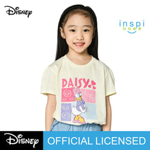 Load image into Gallery viewer, Disney Daisy Duck Tshirt in Creamy White for Girls Inspi Shirt