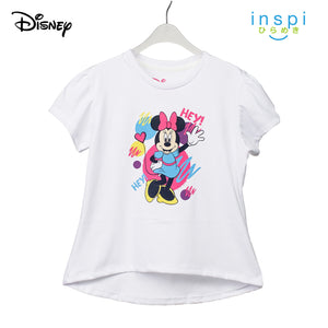 Disney Hey Minnie Mouse Tshirt in White for Girls Inspi Shirt