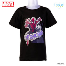 Load image into Gallery viewer, Marvel The Amazing Spider Man Tshirt in Black for Boys Inspi Shirt