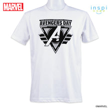 Load image into Gallery viewer, Marvel Avengers Day Graphic Tshirt in White for Men and for Women Inspi Shirt
