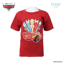 Load image into Gallery viewer, Disney Cars Champ Tshirt in Brick Red for Boys Inspi Shirt
