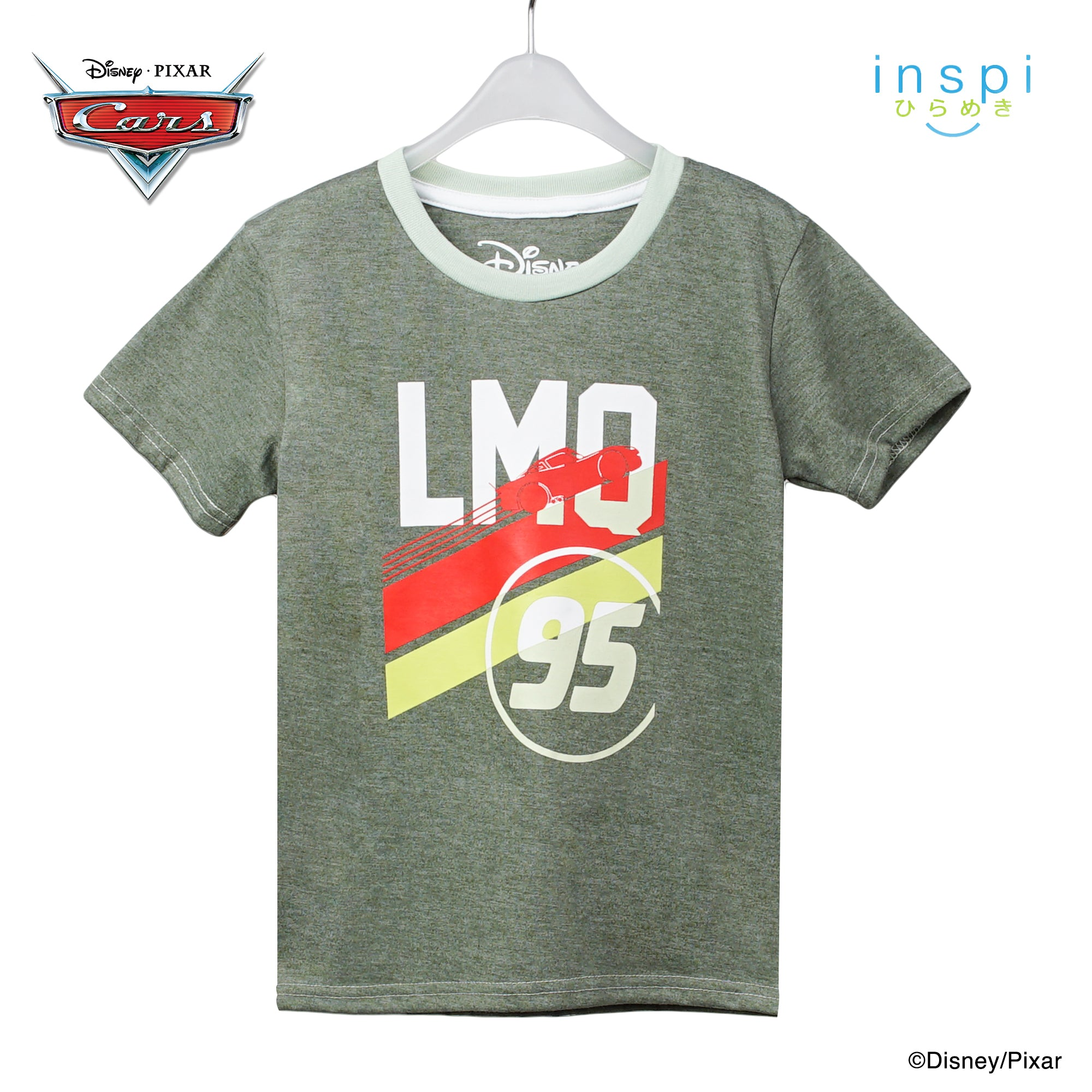 Disney Cars Lightning Mc Queen 95 in Woodland for Boys Inspi Shirt