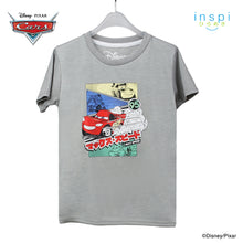 Load image into Gallery viewer, Disney Cars Max Speed Tshirt in Twill Gray for Boys Inspi Shirt