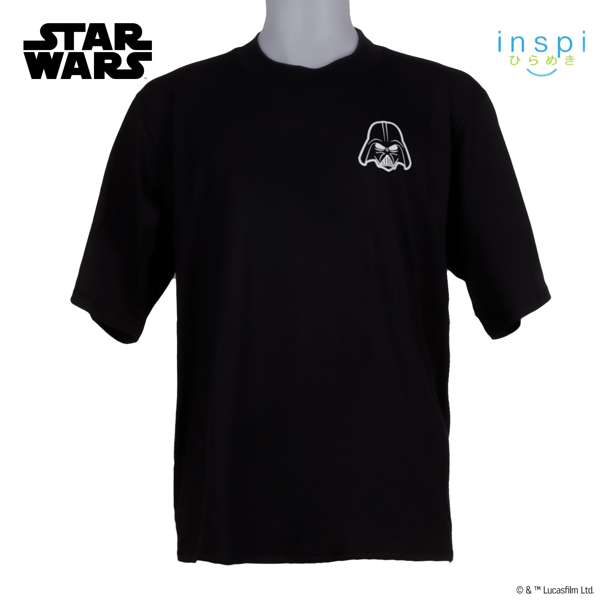 Star Wars Loose Fit The Force is Strong With You Graphic Korean Oversized Tshirt in Black Inspi Tee