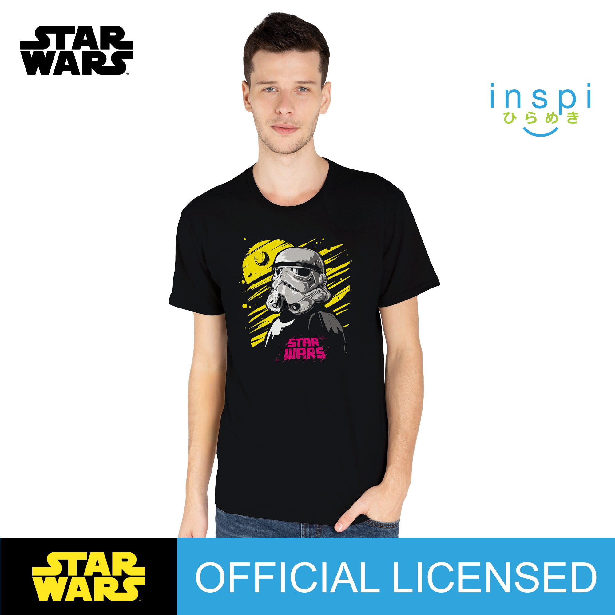 Star Wars Death Star Graphic Tshirt in Black for Men and for Women Inspi Shirt