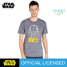 Load image into Gallery viewer, Star Wars Darth Vader Graphic Tshirt in Smoke Gray for Men and for Women Inspi Shirt