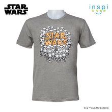 Load image into Gallery viewer, Star Wars Trooper Doodles Graphic Tshirt in Light Gray for Men for Women Inspi Shirt
