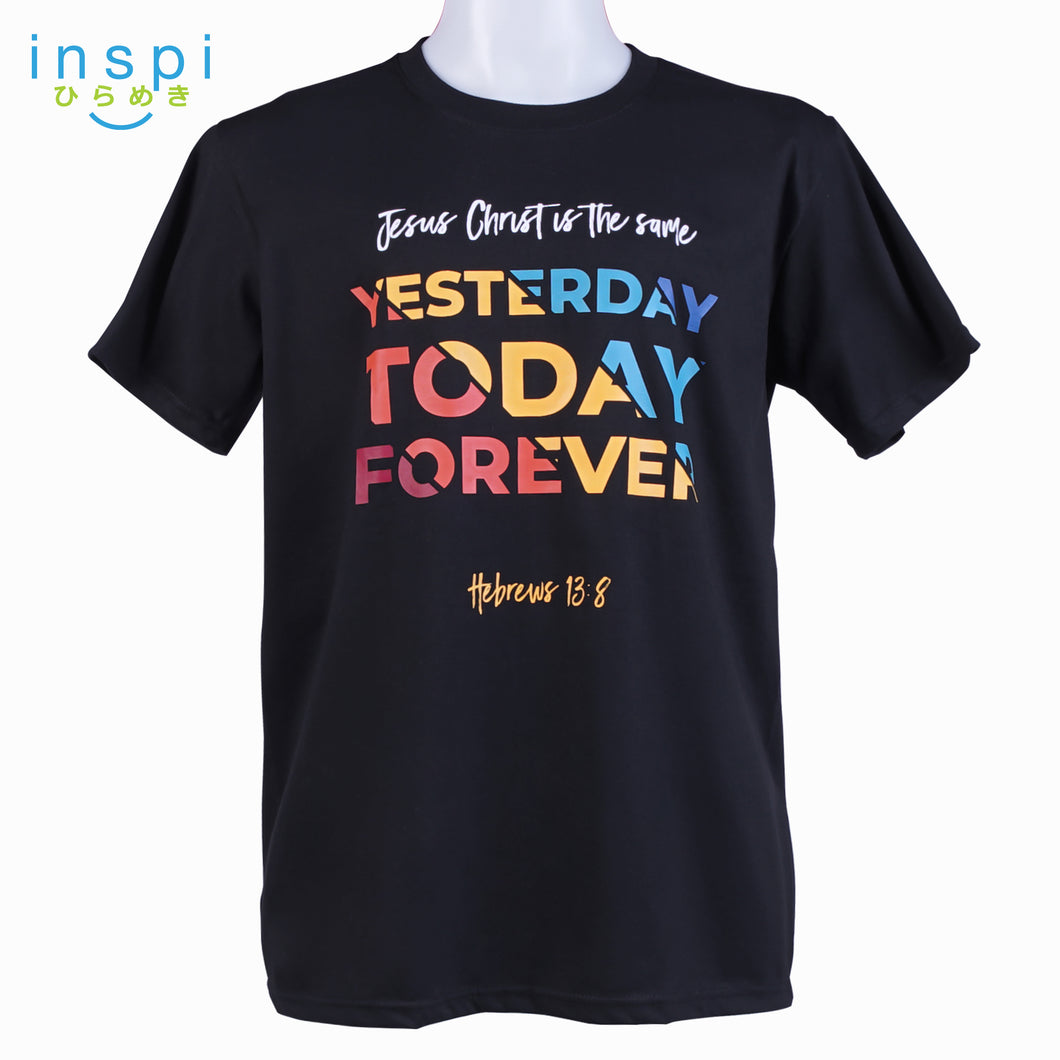 INSPI Shirt Jesus is The Same Graphic Tshirt in Black