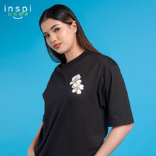 Load image into Gallery viewer, INSPI Tees Loose Fit Pinoy Pride Graphic Korean Oversized Tshirt in Black For Men Women Unisex