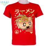 INSPI Tees Ramen Graphic Tshirt in Red