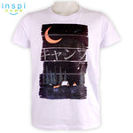 INSPI Tees Mountain Camp Graphic Tshirt in White