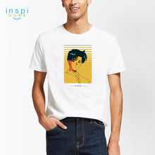 Load image into Gallery viewer, INSPI Tees Mamoru Graphic Tshirt in White