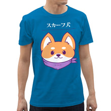 Load image into Gallery viewer, INSPI Tees Good Doggo Graphic Tshirt in Blue