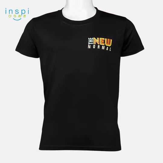 INSPI Shirt The New Normal Tshirt in Black