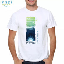 Load image into Gallery viewer, INSPI Tees Blue Moon Graphic Tshirt in White