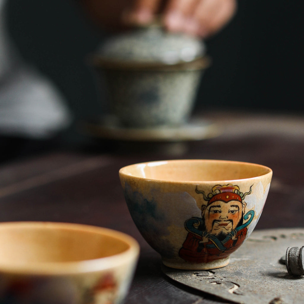 How do all the flavors in tea come from?