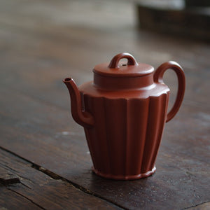 What's the trick of raising the teapot?