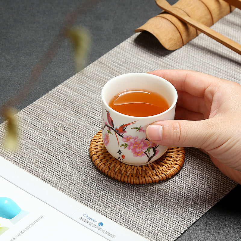 "In the oolong tea soup, where did the ""Ji Shui Hong"" come from?"
