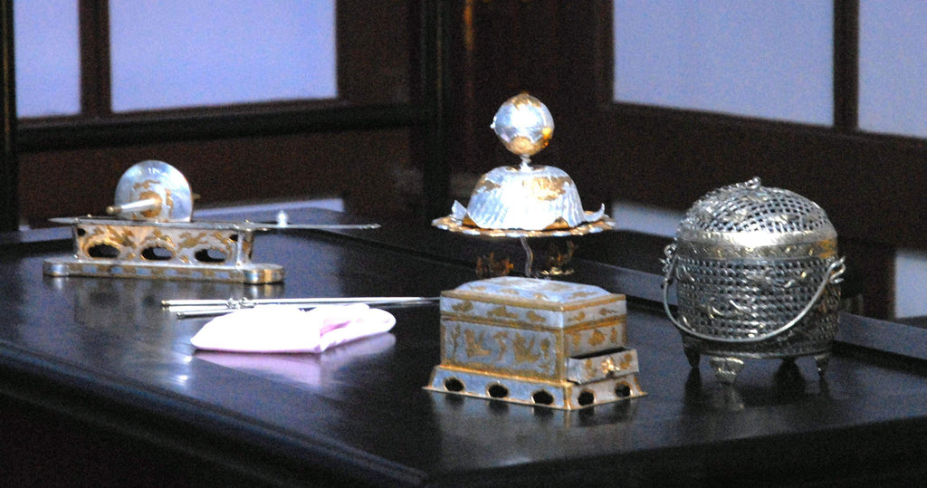 Tang Dynasty Silver Tea Set