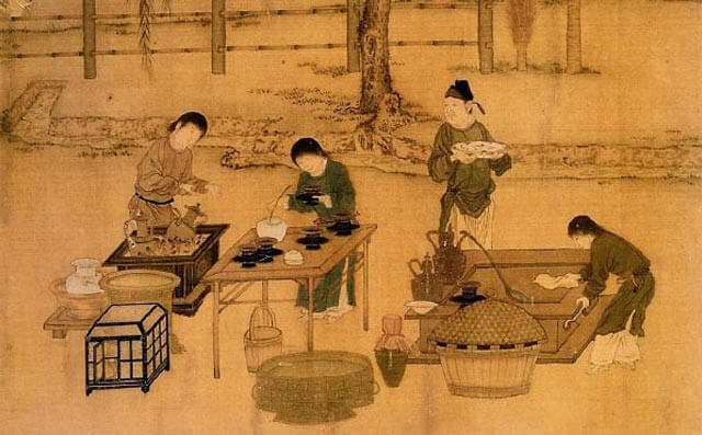 Tang Dynasty tea ceremony