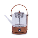 Thick Heat-resistant Automatic Glass Steam Tea Maker
