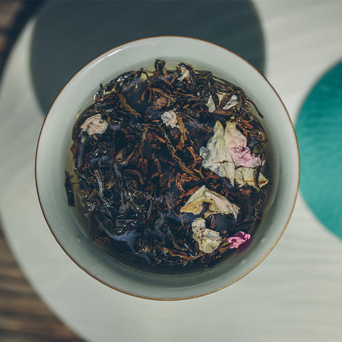 Rose Black Tea Jiuqu Hongmei 2020 Spring Tea Suitable For Cold Bubble
