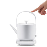 Silent Portable Electric Kettle Household Small Automatic Power Off Water Boiler 304 Stainless Steel Shite Hand Teapot