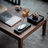 Alloy Incense Stick Zen Incense Base Japanese Style Creative Alloy Insert Incense Board Tea Ceremony Accessories