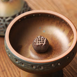 Imitation Ceramic Boshan Burner Incense Burner Home Indoor Tea Ceremony Zen Buddha Burning Point Incense Sandalwood Seat