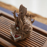 Backflow incense burner tea pet ornaments boutique incense lucky town house backflow incense holder