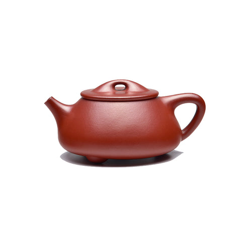 Yixing Zisha pot famous pure hand-made Dahongpao Bawang Jingzhou stone scoop teapot tea set