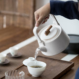 Ceramic Kettle Electric Ceramics Tea Pot Household Ceramic Kung Fu Tea Set Teapot Warm Tea Cooking Teapot Set